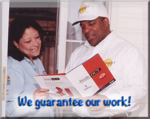 We guarantee our work!